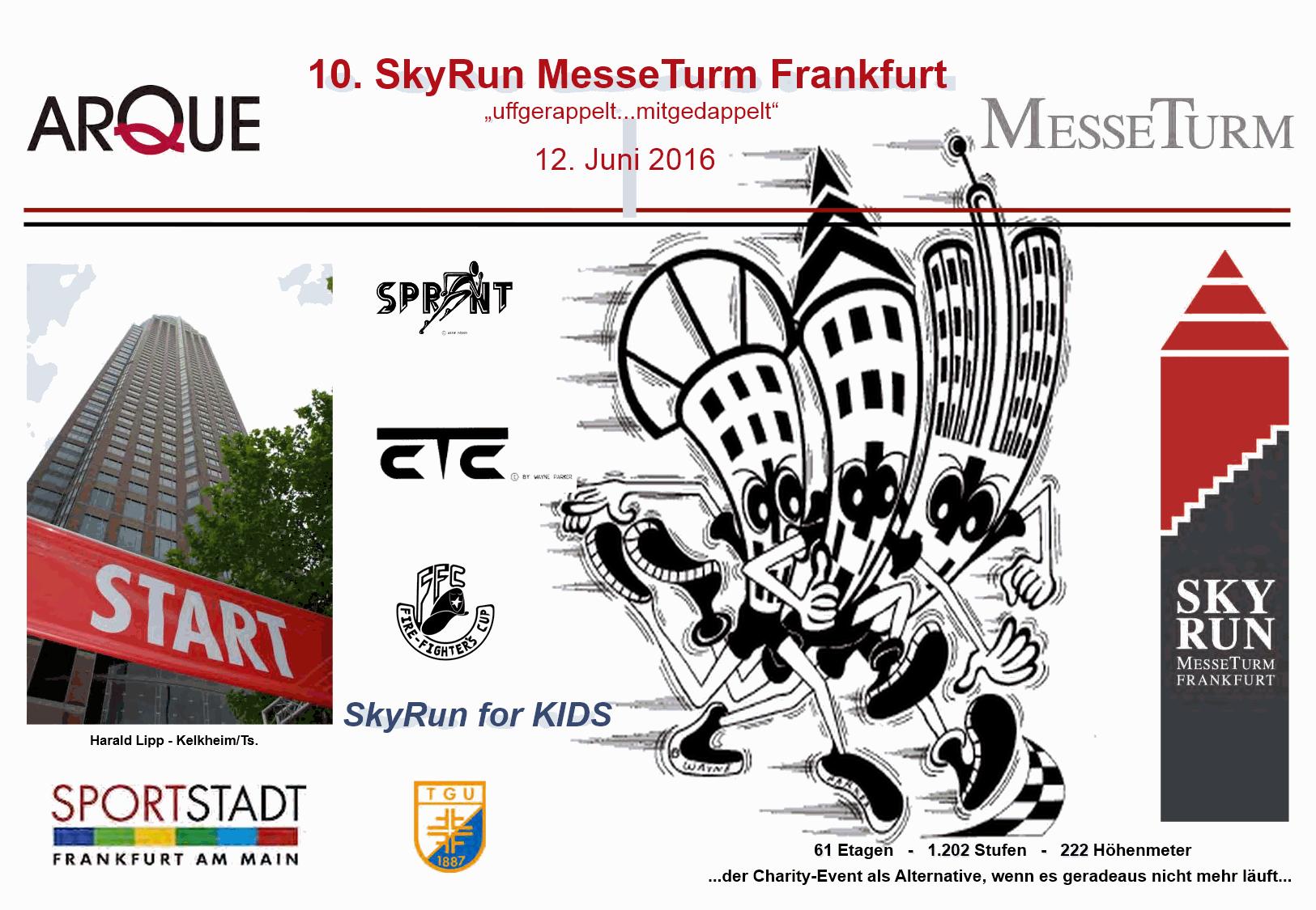 Plakat zum Skyrun
