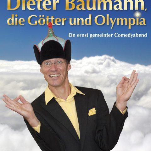 Plakat Dieter Baumann die Götter und Olympia