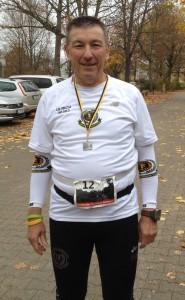 Ulrich Tomaschewski beim Neckarufer-Marathonle