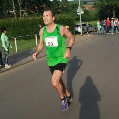 Matthias Reutzel beim Laufen