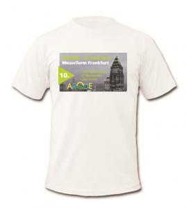 Modell des Shirts für den Skyrun 2016