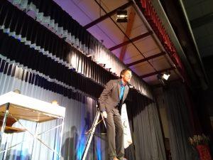 Dieter Baumann auf der Bühne