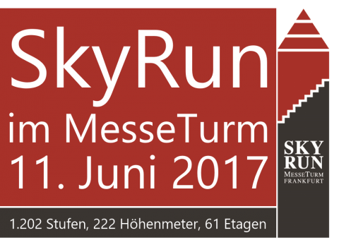 SkyRun MesseTurm Plakat 2017