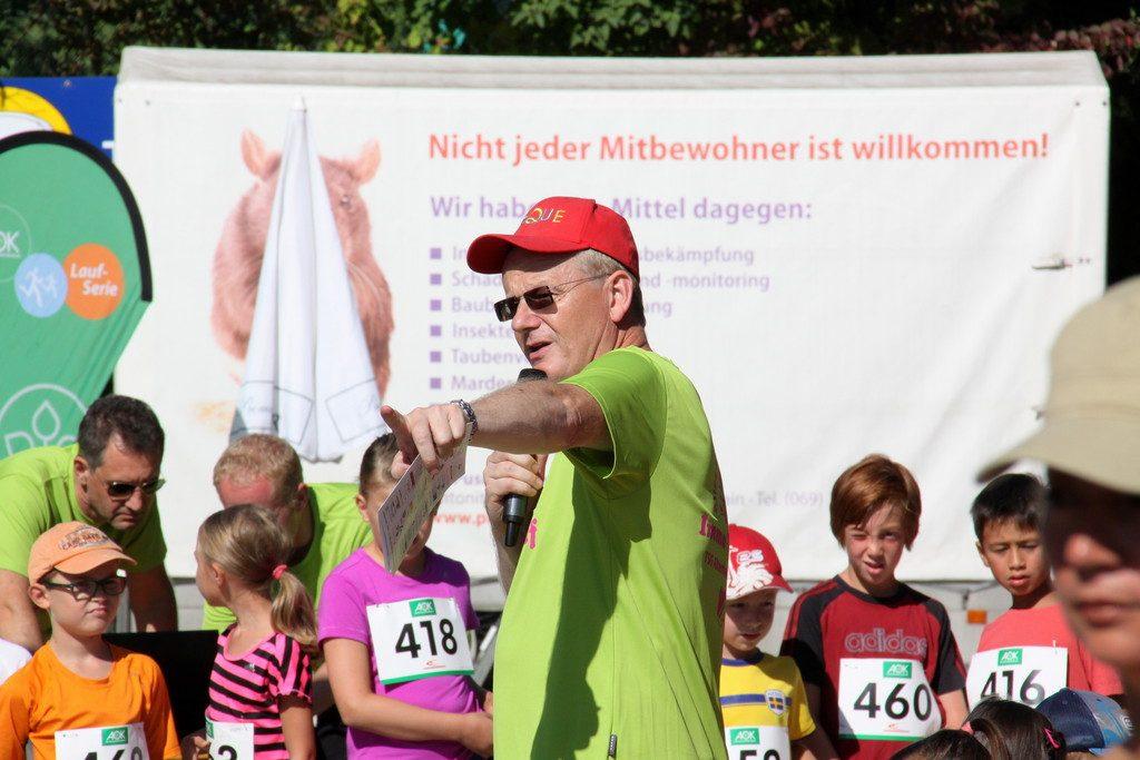 Bernd Krause, Race Director Wuzzelauf