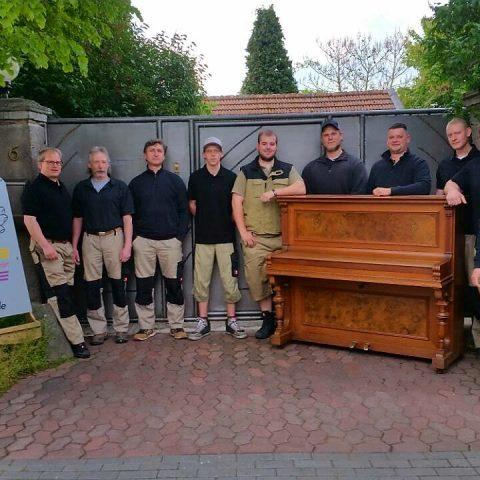 pianotrans.de - Die Truppe im MesseTurm