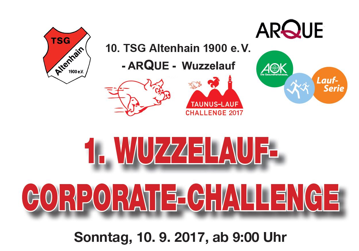 Banner Wuzzelauf-Corporate-Challenge 2017
