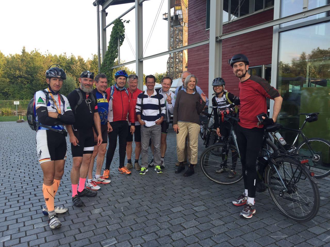 Radlergruppe beim CrossFondo 2017