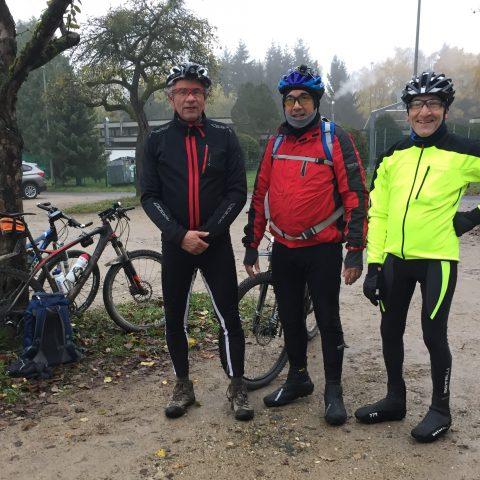 Richard Polowczyk, Michael Lederer und NOrbert Bischoff (von links)