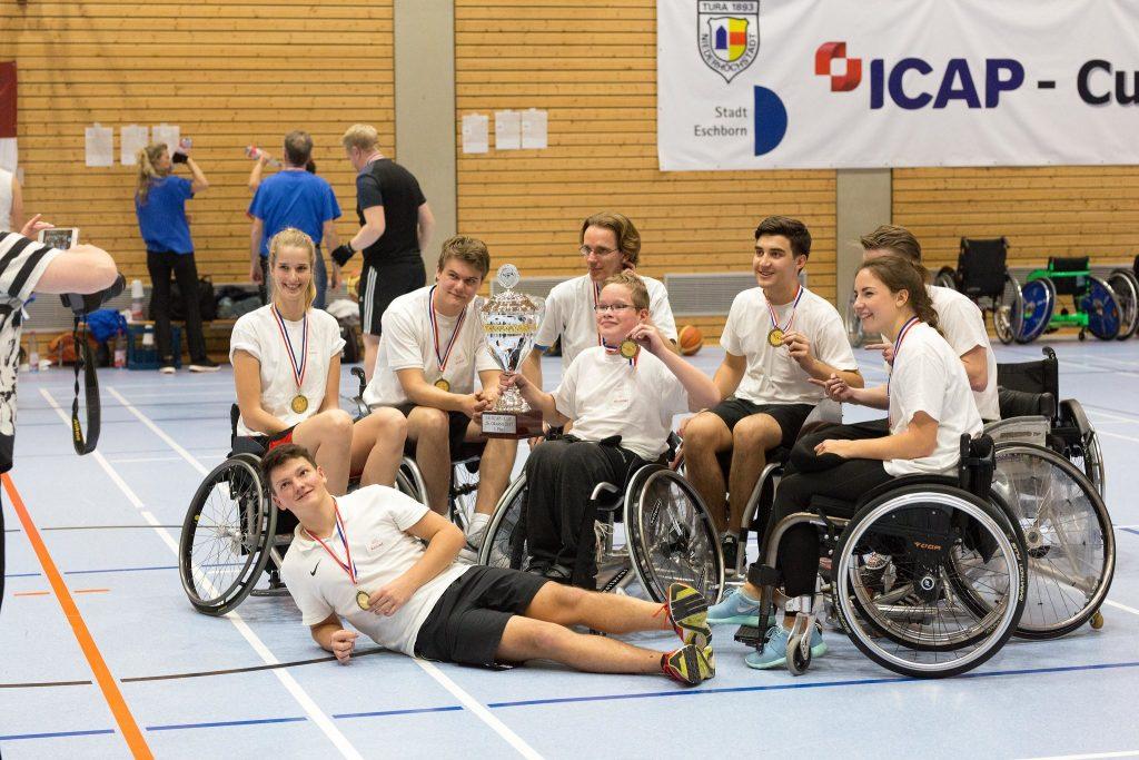 Gruppenbild der Sieger beim ICAP-CUP 2017