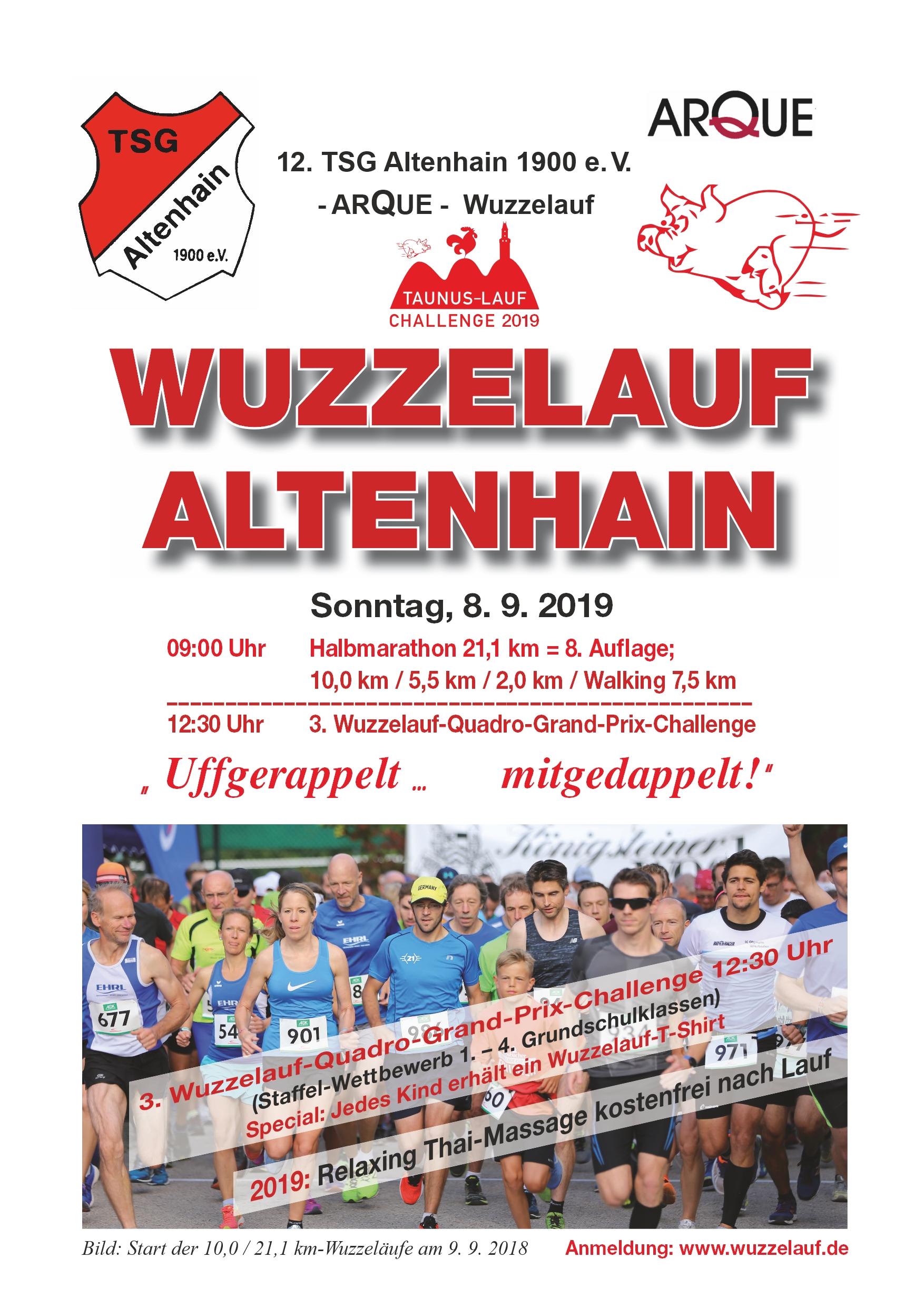 Wuzzelauf Plakat 2019