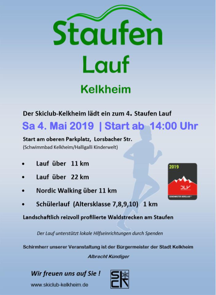 Staufen Lauf Plakat