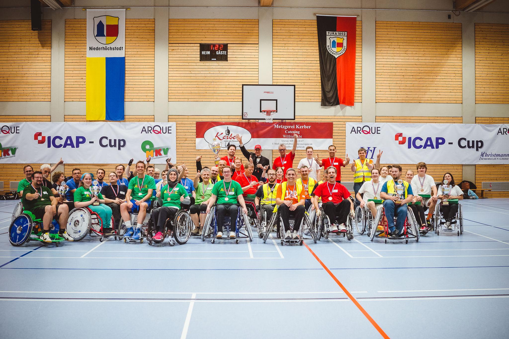 Gruppenfoto ICAP-CUP 2018