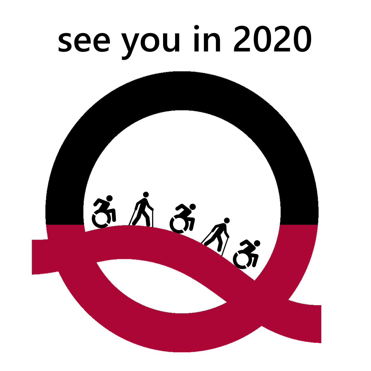 See you in 2020 als Logo