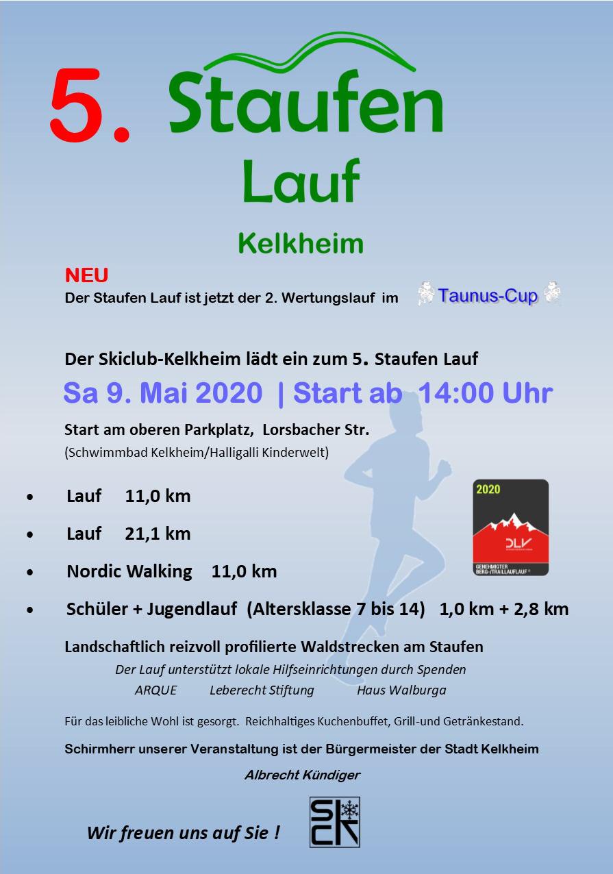 Staufen-Lauf Plakat