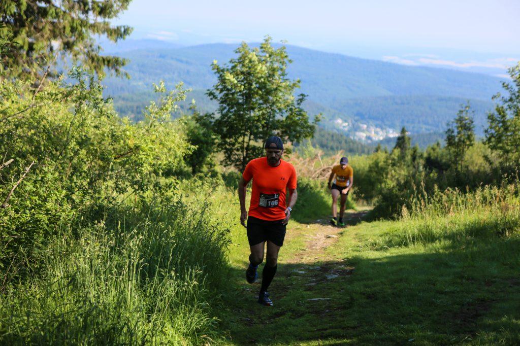 Läufer am Feldberg