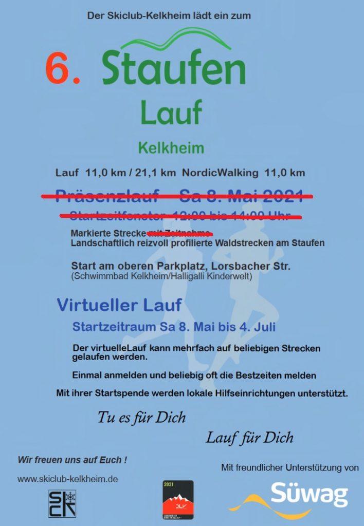 Skiclub Kelkheim - Staufenlauf virtuell